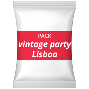 Pack despedida de solteira(o) – Vintage party, Lisboa