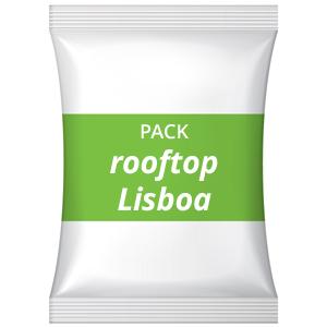 Pack festa de aniversário adultos – Rooftop sunset, Lisboa