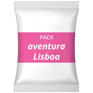 Pack festa corporativa – Aventura, Lisboa