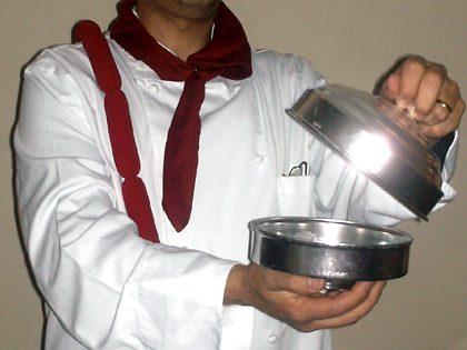 Sketche cozinheiro falso