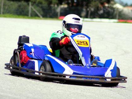 Corrida de Karting
