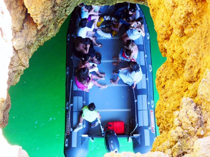 Bachelor and bachelorette party – Sea caves tour package