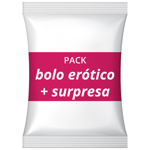Pack Bolo erótico + Animação surpresa