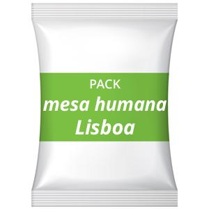 Pack festa de divórcio – Mesa humana – Restaurante Quotidiano, Lisboa