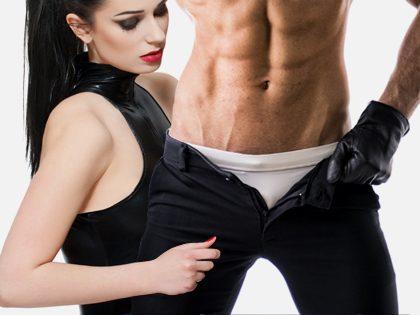 Espetáculo de striptease misto