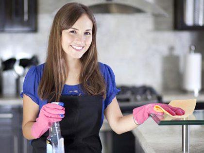Serviço de limpezas surpresa