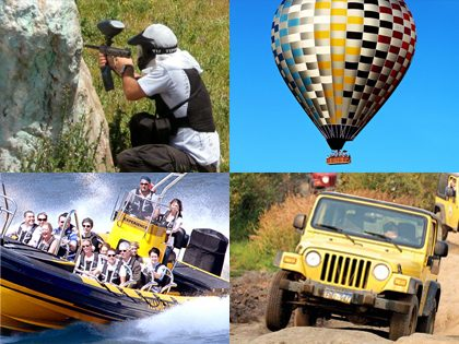 Bachelor and bachelorette party – Adventure package