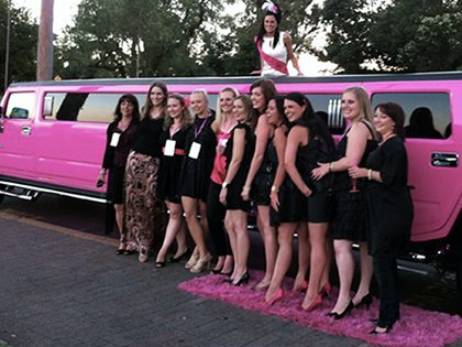 Bachelor and bachelorette party – Hummer limo package