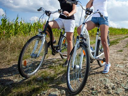 Passeio de bicicleta (BTT)