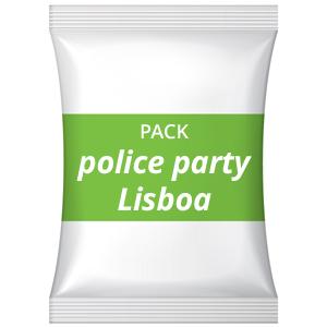 Pack festa de divórcio – Police party, Lisboa