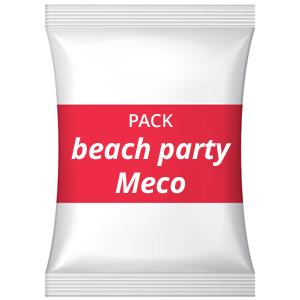 Pack festa de divórcio – Beach party, na praia Meco
