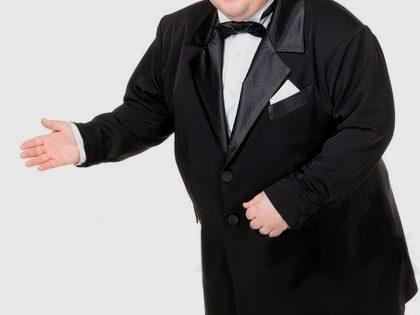Empregado falso cómico – Gordo
