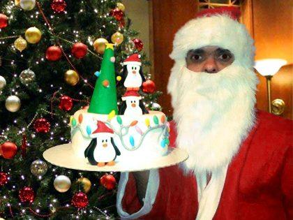 """Pai Natal """"Anão"""""""