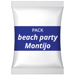 Pack festa de aniversário adultos – Beach party (praia fluvial), Montijo