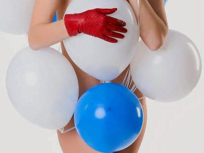 Jogo interativo sexy – Balões