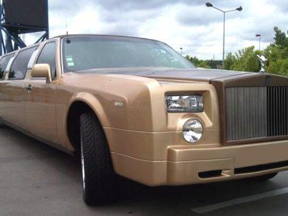 Transporte de limousine (Rolls Royce champagne)